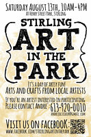 Stirling Art In The Park