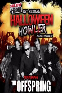 ISO pair of Edmonton Halloween Howler Tickets w Offspring