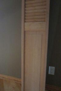 porte en bois,persienne,en chêne West Island Greater Montréal image 3