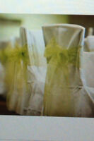 For Sale - White Chair Covers