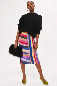 BNWT Limited Edition Topshop Fully Embellished Skirt