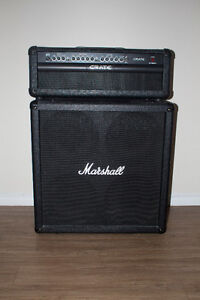 Crate GT1200H Amp w/ 4x12 Marshall Cab