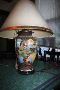 Beautiful Ornate Vintage Asian-inspired Desk Lamp Kitchener / Waterloo Kitchener Area image 1