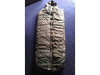 British Army Feather Filled Sleeping Bag