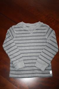Carter's Long Sleeve Waffle Knit Shirt 4T