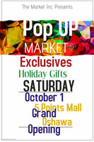 Vendors Wanted For Pop UP Market In North Oshawa