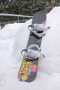 Burton Snowboard, Thirty Two Boots, Rome Bindings, Burton Jacket