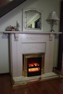 MANTLE AND ELECTRIC FIRE Cherrybrook Hornsby Area Preview