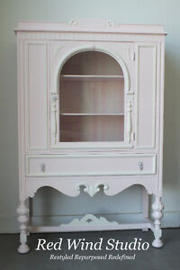 Pink Cashmere Cabinet by Red Wind Studio