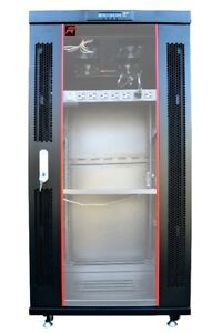 "22u 35""  depth floor standing server rack cabinet/6u-42u racks"
