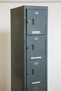 Vintage Industrial Metal Locker