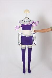 Teen Titans Starfire Cosplay Costume include Leg Wear | eBay