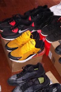 17 PAIRS OF SPORTS SHOES SIZE 13