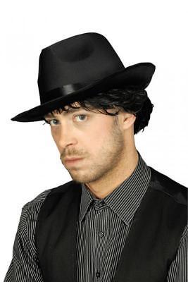 Gangster Hut Anzug Kostüm Mafia 20 er 30 er Jahre Al Capone Ganove - Anzug Kostüm Accessoires