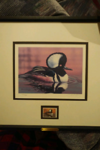 2000 Ducks Unlimited Stamp and Print