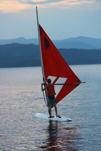 Windsurfer OneDesign. Windsurfing or as a paddle board.