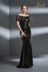 New Elegant Jade Couture Tale Dress Perfect for NYE Party