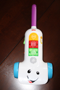 Fisher Price Lights & Sounds Toddler Vacuum