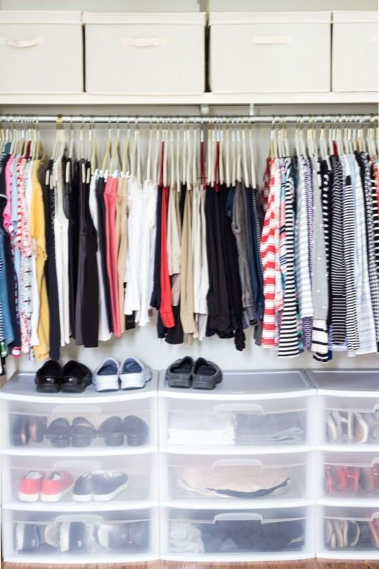 Wardrobe Organisation: 5 Easy Tips | from On Sutton Place