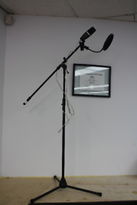 **THE WHOLE PACKAGE**Apex 555 with Stand and Pop Filter (#14071)