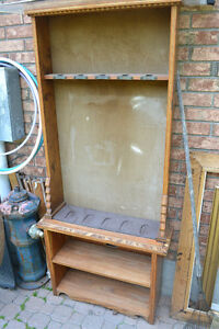 ANTIQUE FIREARMS DISPLAY CABINET