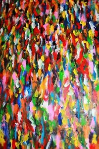 Peinture Tableau Painting Tableaux Abstract Abstraite by MILLA! West Island Greater Montréal image 3