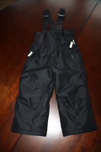 Etirel Black Snow Pants- 3T