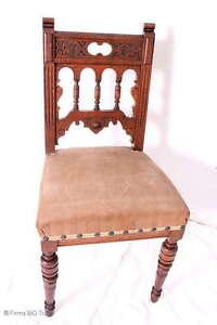 wundersch ner antiker gr nderzeit stuhl holzstuhl geflecht drechselarbeiten ebay. Black Bedroom Furniture Sets. Home Design Ideas
