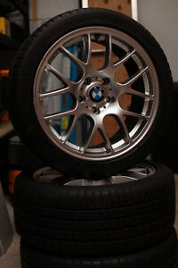 BMW Michelin Pilot Sport A/S 3 and rims