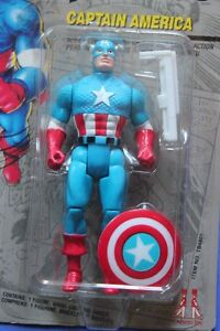 """MARVEL 1990 Captain America 5"""" Figure (VIEW OTHER ADS)"""