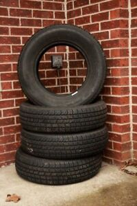 A Set of 4 Tires in Almost New Condition!