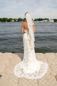 Magnifique robe de mariée en dentelle Tara Keely