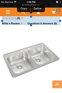 Brand new Wesson sink