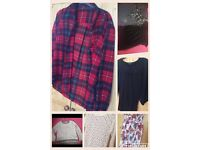 Ladies 7 tops from lipsy & newlook