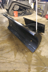 "72"" Skid Steer snow blade like new"