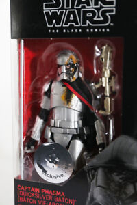 Star Wars Black Series 6`` Captain Phasma Quicksilver Baton MISB