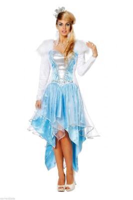 Anastasia Schneekönigin Rokoko Königin Eiskönigin Damen Prinzessin Kleid Kostüm