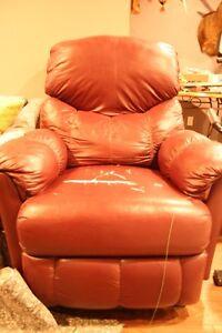 Imitation Leather Recliner