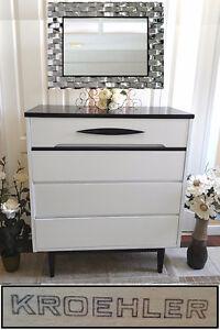 "Classy! Refinished KROEHLER 4-Drawer Dresser, W36"" (On HOLD)"