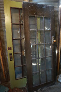 Interior French Doors with glass panes