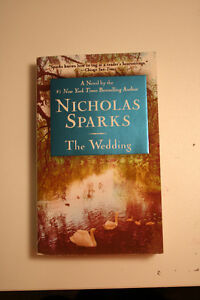 Nicholas Sparks - The wedding *Near perfect condition*