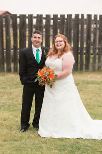Size 22 wedding dress - open to offers