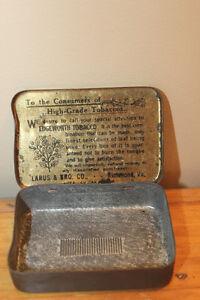 Vintage Small Edgeworth Tobacco Tin London Ontario image 7