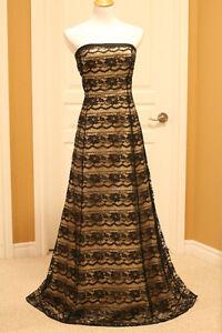 Black lace dress from Melanie Lyne