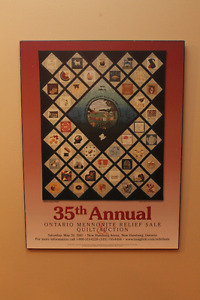 Collectable Mennonite Central Relief Posters