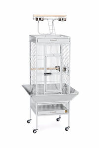 Prevue Hendryx Pet Products Wrought Iron Bird Cage - Pewter
