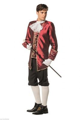Rokoko Marquis Kostüm Barock Mittelalter Herren Baron Lord - Alte Prinz Kostüm