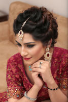 Pakistani/Indian Bridal Make up and Hair Services FREE TRIAL