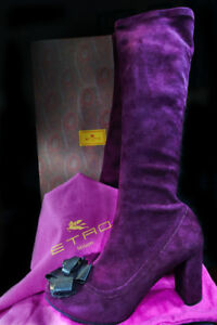 ETRO High boots , 3.5 in Heels,Size9