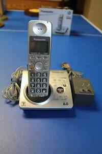 Panasonic Cordless Phone with built in Answering Machine Peterborough Peterborough Area image 2